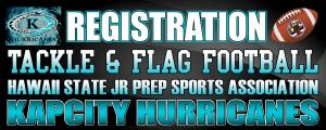 KapCity Hurricanes Registration - Spring 2015